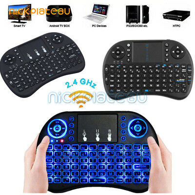 mini i8 2.4GHz Wireless Keyboard with Touchpad for smart TV PC android RR
