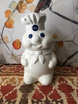 Vintage 1988 Pillsberry doughboy cookie jar. Made by Benjamin and Medwin
