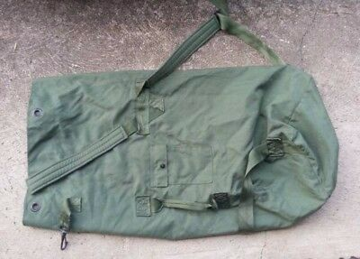 USA Army Military Canvas Duffel Camping Survival Bag