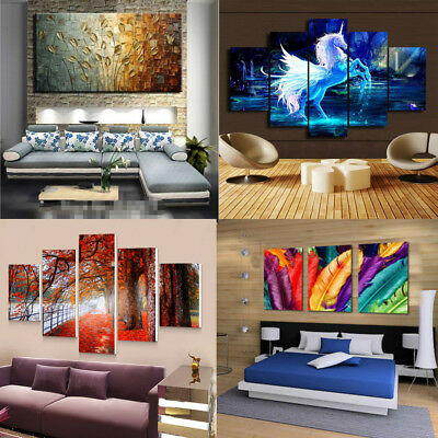 Large Modern Art Oil Painting Canvas Print Picture Home Wall Decoration Unframe