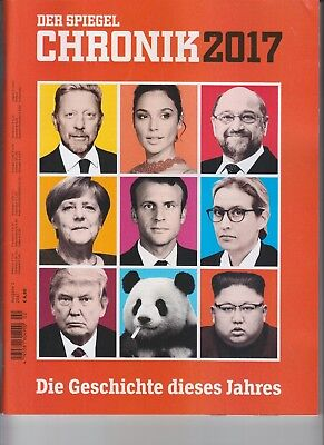 Donald Trump Der Spiegel Chronik 2017 Magazine No Label German Gal Gadot