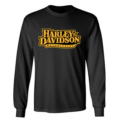 HARLEY DAVIDSON Sports Rider Racing Motorcycle Wheels Biker Long Sleeve T-Shirt