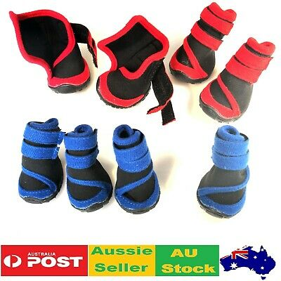 Dog Shoes Black Blue Waterproof XXS XS S M L XL XXL - Boots Booties Paws Injury