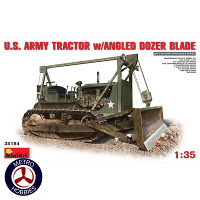 Mini Art 1/35 US Army Tractor w/ Angledozer 35184 Brand New