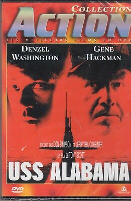 Uss Alabama  Denzel Washington Gene Hackman Dvd Neuf Sous Blister !!!!!