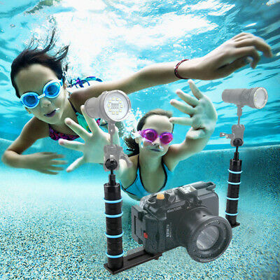 Handheld Hand Grip Stabilizer Rig Underwater Diving Tray Mount for Gopro Camera