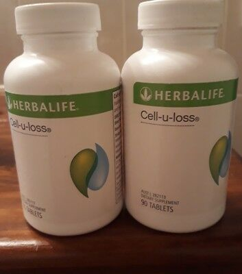 Herbalife -2 bottles, Cell-U-Loss New Sealed,180 tablets all up!! Bargain!