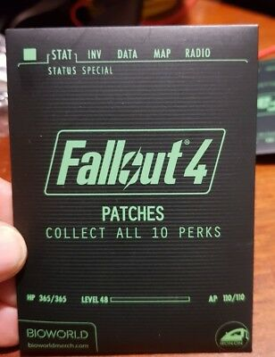 Official Fallout 4 Iron On Patch Blind Pack - FREE POST