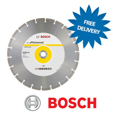 "BOSCH 300mm / 12"" Universal General Purpose Diamond Cutting Blade Disc"