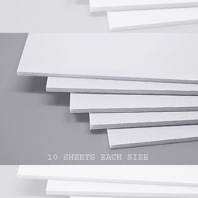 White Foam Board- 5mm- A1 A2 A3 A4 Mounting Sign Wedding White Boards Pack of 10