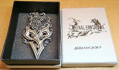 Final Fantasy X Tidus Necklace FF10 XV Yuna Cosplay Anime Video Game in Box