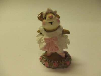 Wee Forestfolk 1989 Prima Ballerina Pink Pre Owned Mint