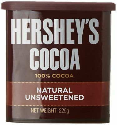 Hershey's Cocoa Powder For Hot Cocoa Frosting Cakes Brownies Desserts - 225 Gm
