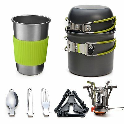 Portable Camping Cookware Stove for Backpacking Outdoor Camping Hiking