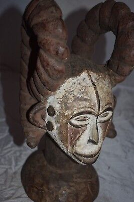ORIG $499- IGBO WITCHDOCTOR HEADPIECE EARLY 1900S REAL 16