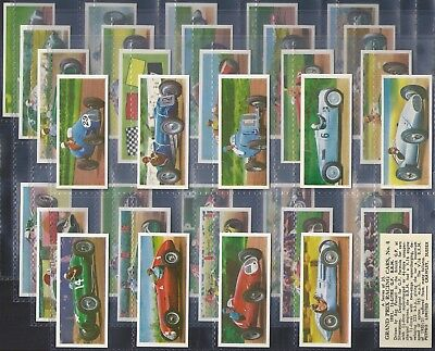 Petpro-Full Set- Grand Prix Racing Cars (35 Cards) - Exc+++