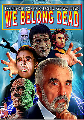 We Belong Dead #17 (2015, UK 100 pages, full colour) Christopher Lee special