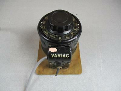 General Radio Type V5  Variac Voltage Control 0 to 130 volts 5 amps