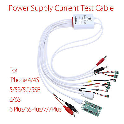 DC Power Supply Current Tester Cable Wire Battery Activation Board for Iphone7/8