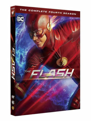 The Flash Season 4 DVD Brand New sealed Quick & Fast postage