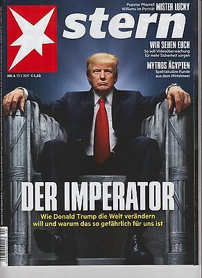Donald Trump Stern Magazine January 19 2017 No Label German