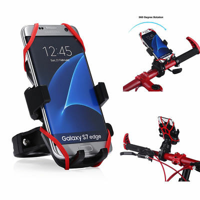 Motorcycle MTB Bike Bicycle Handlebar Mount Holder For Samsung Cell Phone GPS