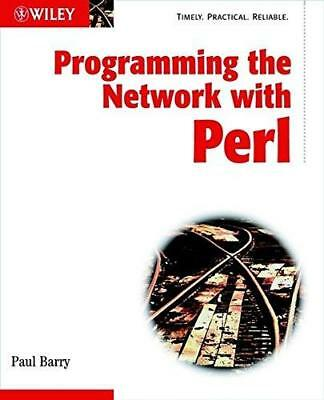 Programming the Network with Perl by Paul Barry (Paperback, 2002)