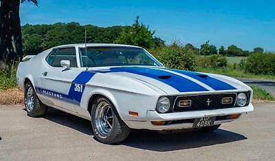 1972 Ford Mustang Mach 1 351 Fastback