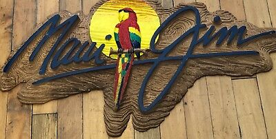 MAUI JIM logo parrot sign