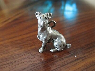 Pewter Jack Russell Terrier Charm / pendant