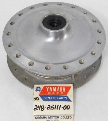 NOS Yamaha AT1 CT1 DT100 HT1 MX125 RS100 LS2 TY175 Front Wheel Hub 248-25111-00
