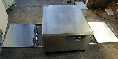 LINCOLN 1302 COUNTERTOP CONVEYOR PIZZA OVEN works great! ELECTRIC
