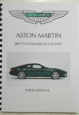 aston martin db7 v12 vantage parts manual 99 03 reprinted a4 comb rh picclick co uk aston martin db7 owners manual aston martin db7 service manual pdf