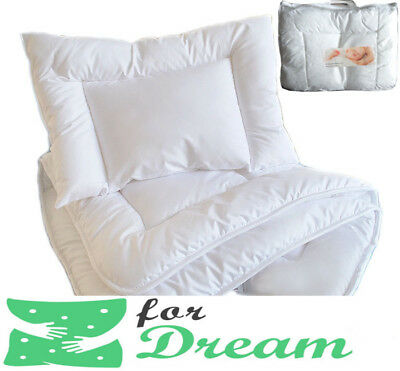 Baby Pillow - Duvet Set /Pillow 60 x 40cm /Duvet 120 x 90 cm