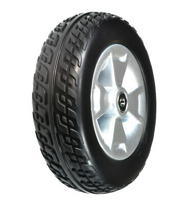 Front Wheel Assembly with Black Molded Tire for Pride 3 Wheeled Scooters