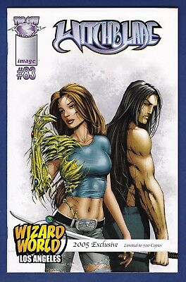 Witchblade #83  Wizard World Los Angeles 1/500 Variant cover 2005  Image WWLA