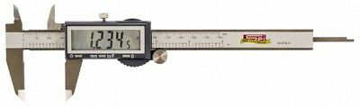 """SPI 18-010-9 IP54 Digital Electronic Caliper 0-6"""" Range with Large LCD Display"""