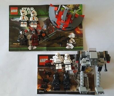 LEGO Star Wars Sets 75165 & 75001