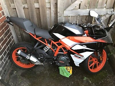 2017 67 Plate KTM RC 390 Salvage Breaking For Spares, Most Parts Available