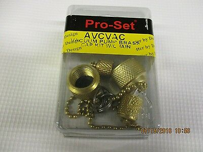 Cps Vacuum Pump Cap Kit W/chains - Avcvac