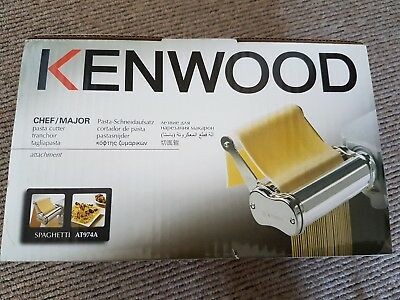 Kenwood Spaghetti Metal Pasta Cutter AT974A - attachment for Chef/ Major
