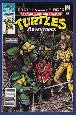 Teenage Mutant Ninja Turtles #1  Archie Comics 1988 1st Print T1