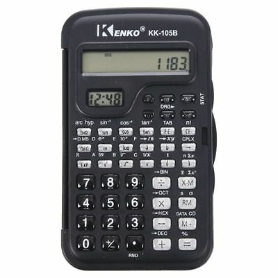 KENKO Student Electronic 10 Digits Scientific Calculator Calculator with Cl H2W4