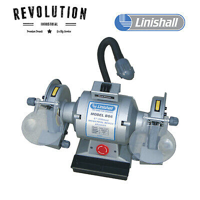 "6"" (150mm) Linishall Bench Grinder - BG6"