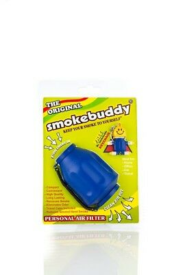 Smoke buddy Original Blue Personal Air Odor Cleaner  Filter-Purifier