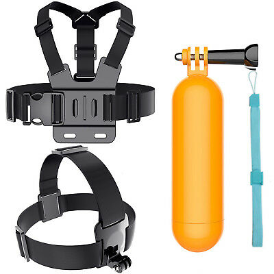 SJ4000 Accessories Head Chest Belt Float Grip for Gopro Hero 5 4 Action Camera