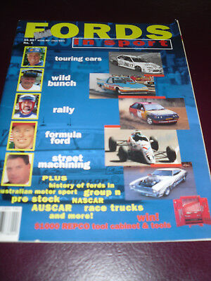 Fords in Sport No 1   Dick Johnson