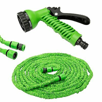 Magic Hose Pipe Expanding Expandable Flexible Garden Car Spray Gun for Watering