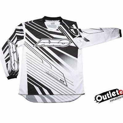Camiseta Axo Sr Negra Jersey Enduro Cross Atv