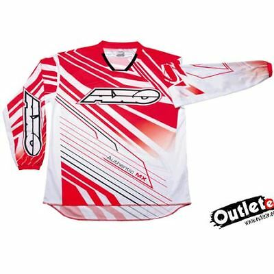 Camiseta Axo Sr Roja Jersey Enduro Cross Atv